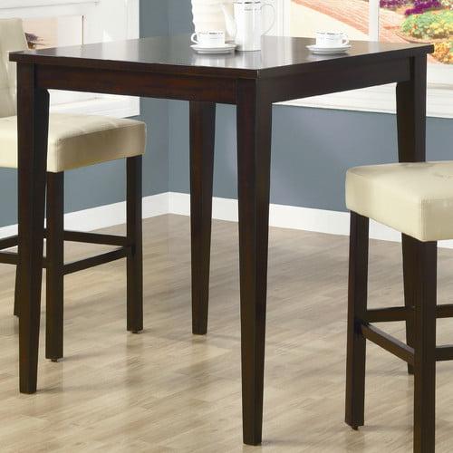 Monarch Dark Espresso Birch Bar Table