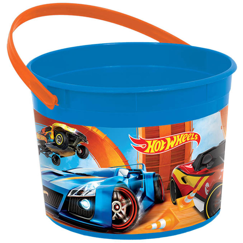 Hot Wheels Wild Racer Favor Container (Each) - Party Supplies