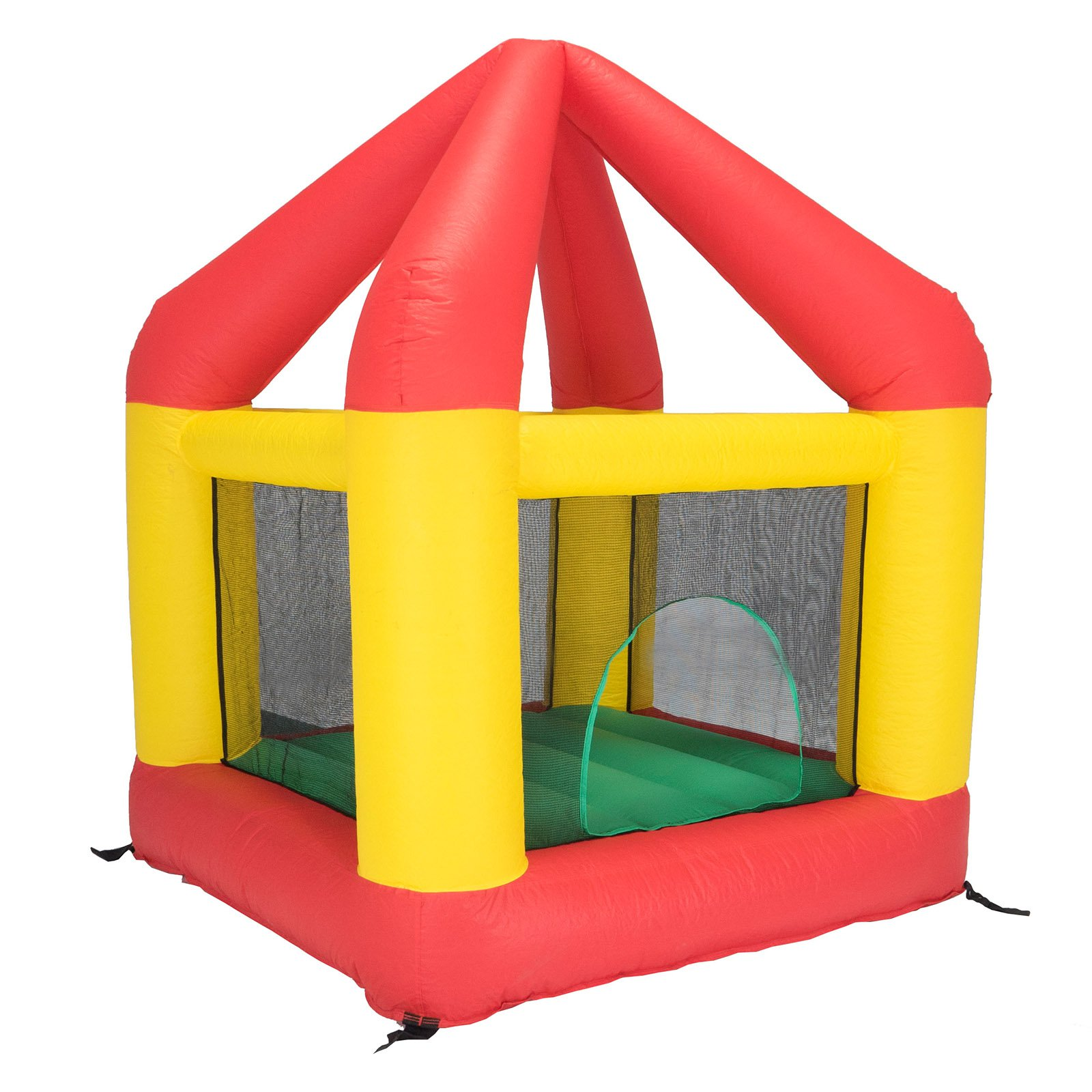 Bazoongi 6.25' x 6' Bounce House with Open Roof (without Cover)