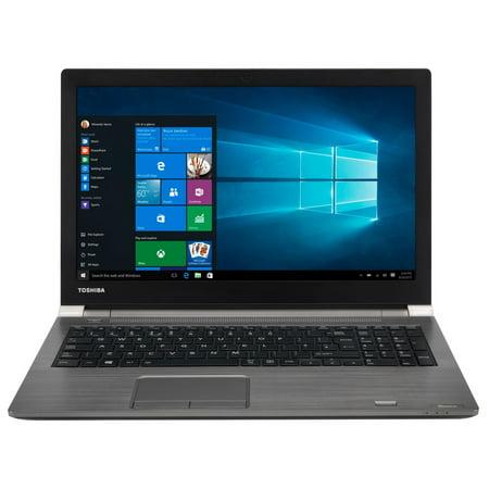 """Toshiba Tecra A50 PS595U Home and Business Laptop (Intel i7-8550U 4-Core, 8GB RAM, 256GB SSD, 15.6"""" Full HD (1920x1080), Intel UHD 620, Wifi, Bluetooth, Webcam, 1xUSB 3.2, 4xUSB 3.0, Win 10 Pro)"""