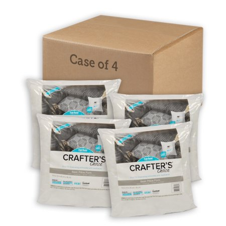 Fairfield Crafter's Choice 4 Pack Pillow Insert - 18