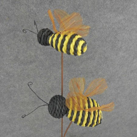1 Pc 4 3 Long Bees On Pick 20 Tall Made Of Paper Twist For