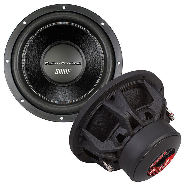 "Power Acoustik BAMF 122 3,500W BAMF Series 12"" Dual 2-Ohm Subwoofer"