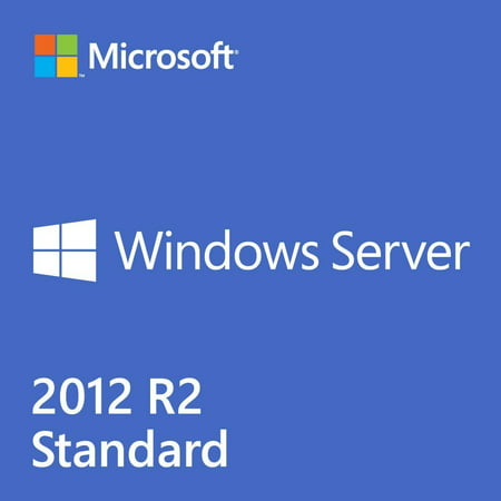 Windows Server Standard 2012 R2 â 2 CPUs / 2 VMs