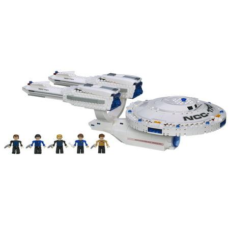Kre O Star Trek Uss Enterprise Construction Set Walmart