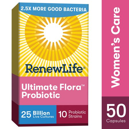 Renew Life Ultimate Flora Probiotic Women S Care 25