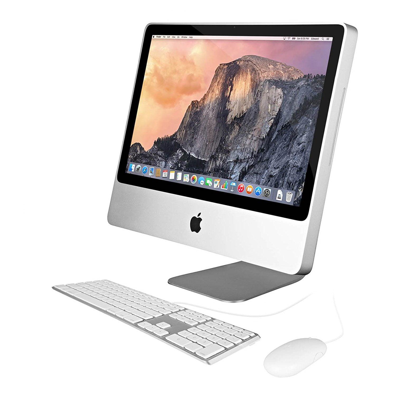 "Apple 20"" iMac Core 2 Duo 2.0 GHz Aluminum 1GB Ram 160GB Hard Drive - MC015LL/A (Manufacturer Refurbished)"