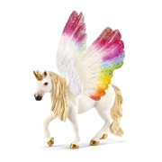 Schleich, Bayala, Winged Rainbow Unicorn Toy Figurine