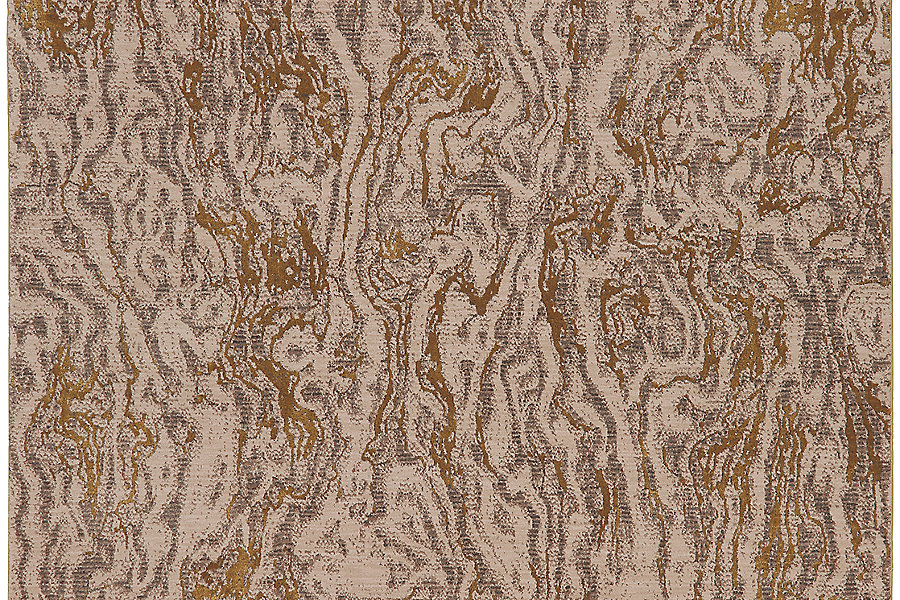 Karastan Enigma Alluvium Brushed Gold (8'x11') by Mohwak Home