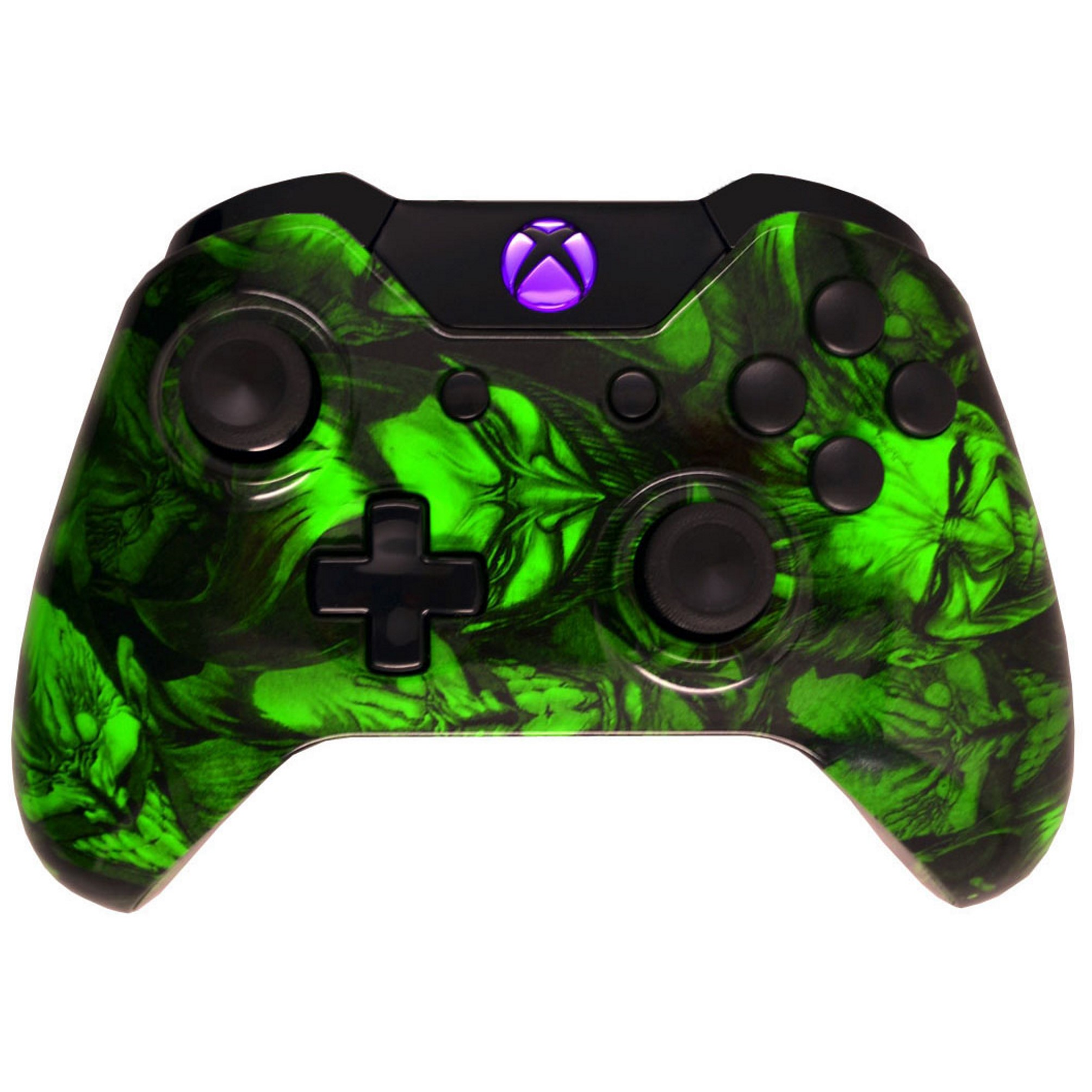 Hydro Dipped Joker Xbox One Modded Controller For All Games