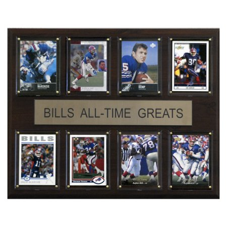 C&I Collectables NFL 12x15 Buffalo Bills All-Time Greats Plaque
