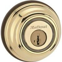 Kwikset Kevo Bluetooth Deadbolt Lifetime Us3, Polished Brass