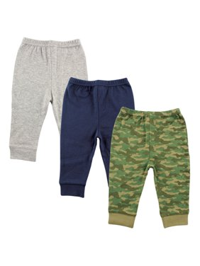 Toddler Boy Tapered Pants, 3-pack