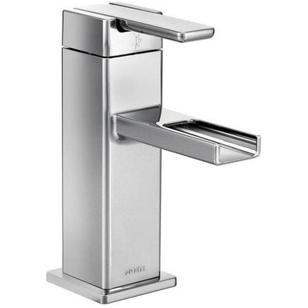 Moen S6705 90 Degree Single Hole Bathroom Faucet, Available in Various Colors