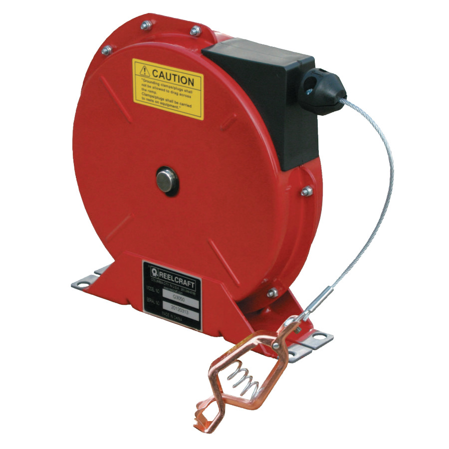 G3050 Spring Retractable Grounding Reels, 50 ft