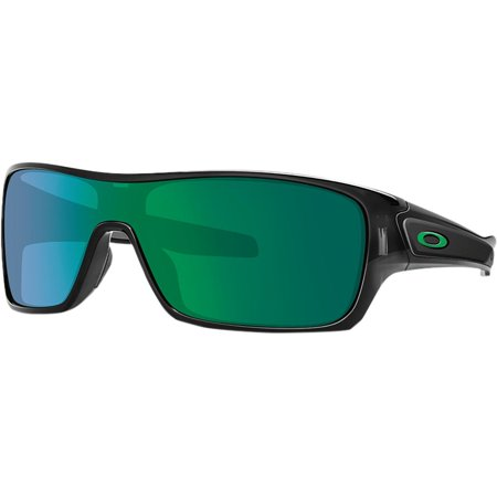 Oakley Turbine Rotor Sunglasses Black Ink W/Jade Irid One Size ()