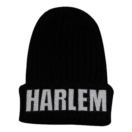 City Hunter Sk1170 Harlem Glitter Patch Beanie Hat - Party City In Harlem
