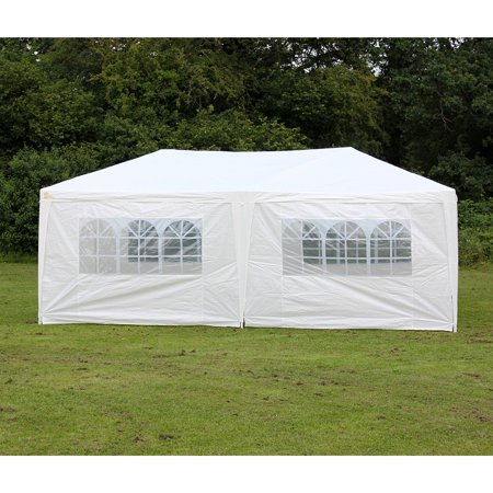 Palm Springs Outdoor 10 x 20 Wedding Party Tent Gazebo Canopy with Sidewalls - Party Store Palm Springs