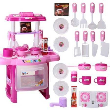 Children'S Educational Light Music Cooking Tableware Play House Kitchen Toys - image 6 of 6
