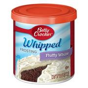 (5 Pack) Betty Crocker Whipped Fluffy White Frosting, 12 oz