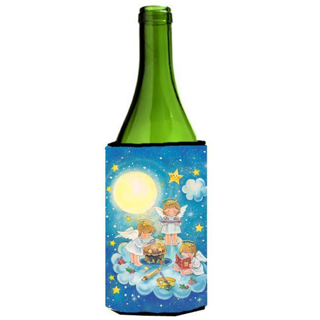 Angels Baking Wine Bottle Can cooler Hugger