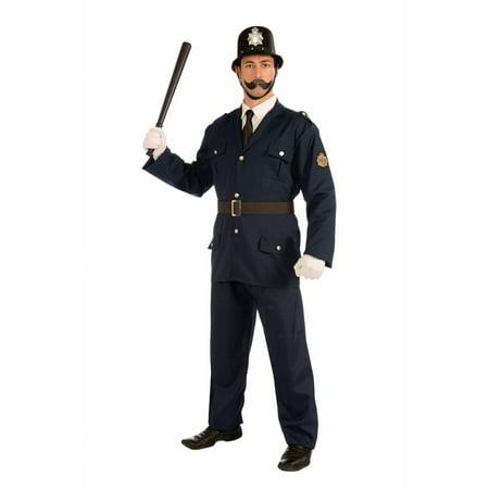 Halloween British Bobbie Adult Costume](Costume British)