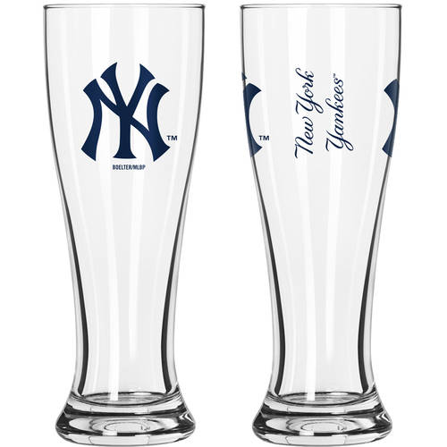 Boelter Brands MLB New York Yankees 2-Pack Gameday Pilsner Set