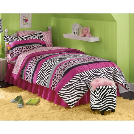 jungle queen bed in a bag twin. Black Bedroom Furniture Sets. Home Design Ideas