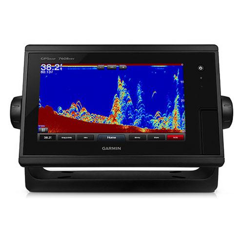 Garmin GPSMAP 7608xsv J1939 8 Inches Fishfinder w/ Preloaded BlueChart g2 & LakeVü HD Maps