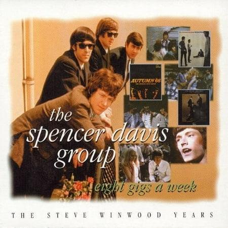 Eight Gigs a Week: Steve Winwood Years (CD) (Best Of Steve Winwood)