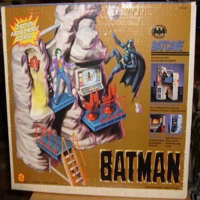 Batman Batcave Master Playset by