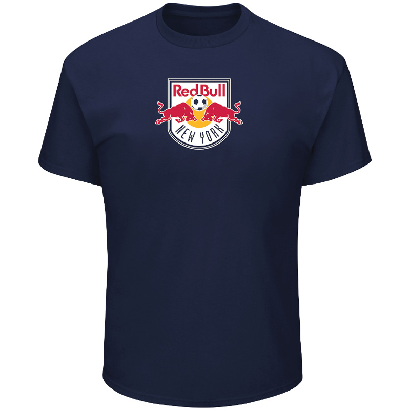 Men's Majestic Navy New York Red Bulls Season After Season T-Shirt