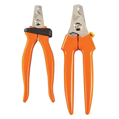 Large Dog Nail Clippers Orange Handled Precision Professional Grade Claw Care