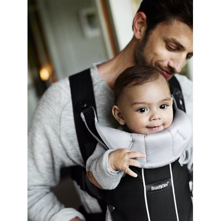 7fcd06b25e9 BabyBjorn Baby Carrier Miracle - Black Purple - Walmart.com