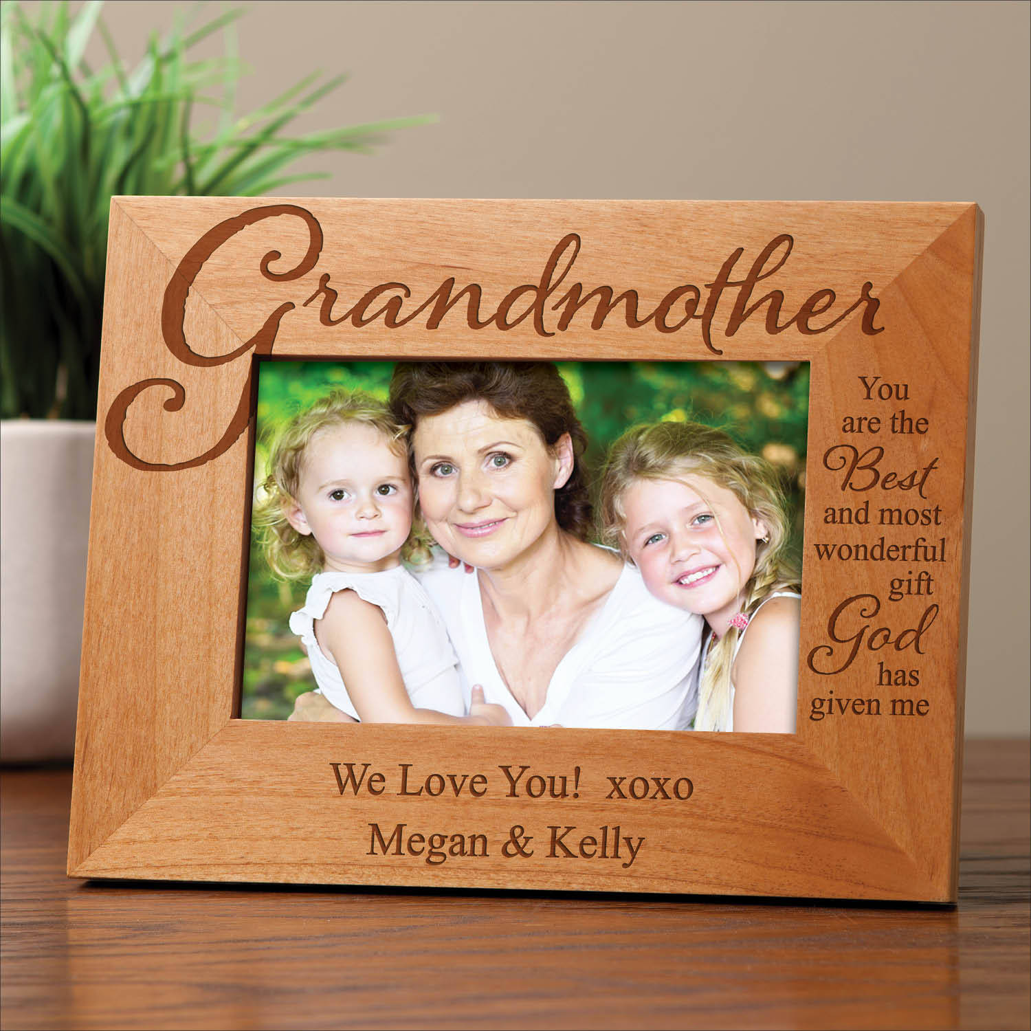 Personalized Frame For Grandmother