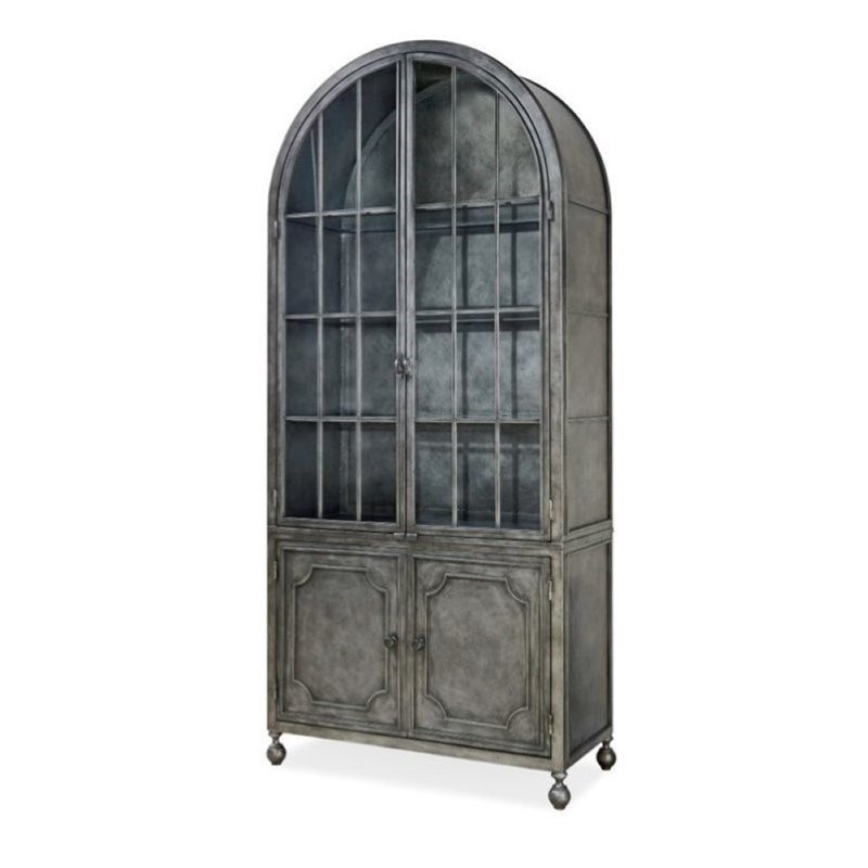 Beaumont Lane Display Curio Cabinet in Bannister by Beaumont Lane