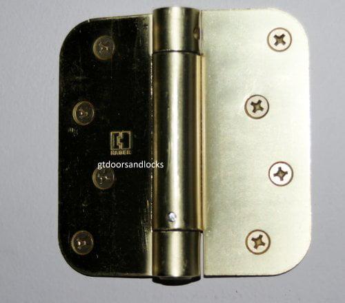 Deltana HPA69U19 Hinge Mounted Adjustable Solid Brass Hinge Pin Stop