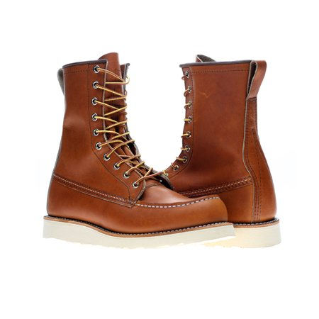 (Red Wing Heritage 877 8-Inch Classic Moc Oro Legacy Men's Boots 00877)