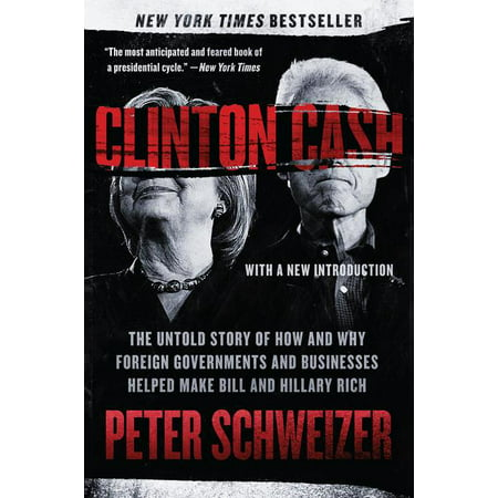 Clinton Cash: The Untold Story of How and Why Foreign Governments and Businesses Helped Make Bill and Hillary Rich (Paperback) Hillary Clinton Button Pin