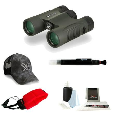 Vortex DiamondBack 8x28 Binocular + Vortex Hat + Float Strap+ Accessory Kit