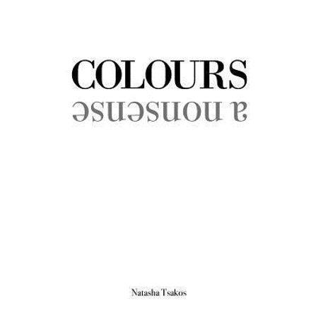Colours  A Nonsense