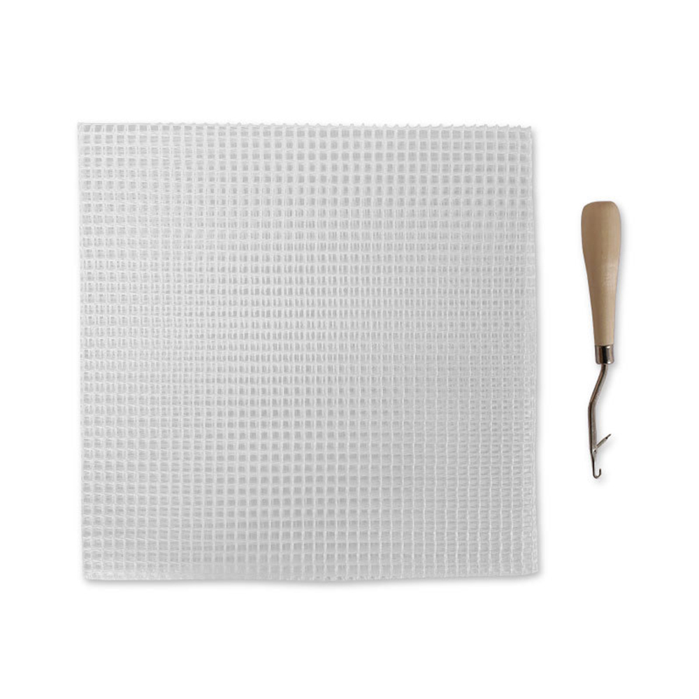 2pcs 1m//each Rug Hooking Mesh Canvas for Rug Making Latch Hook Crafts Work