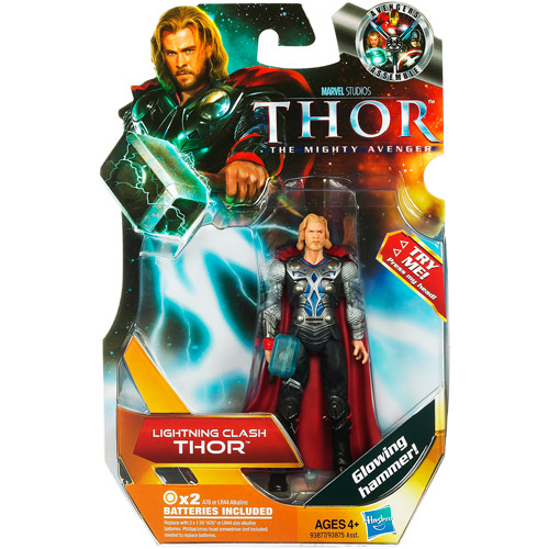 The Mighty Avenger Thor Action Figure [Lightning Clash]