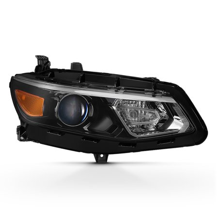 Fits 2016-2018 Chevy Malibu Right Passenger Side Projector Headlight Replacement
