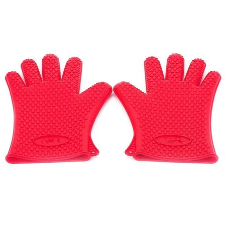 Bbq Gloves Silicone Oven Kitchen Heat Resistant Best Cooking