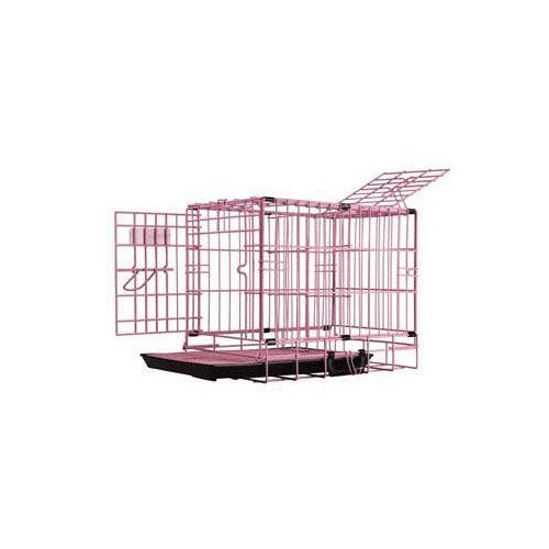 Pet-Tek DreamCrate Professional Dog Crate in Pink