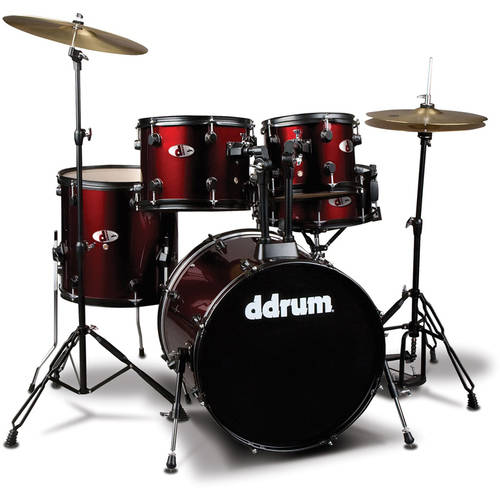 ddrum D Series 5 PC. Set Complete Red by ddrum