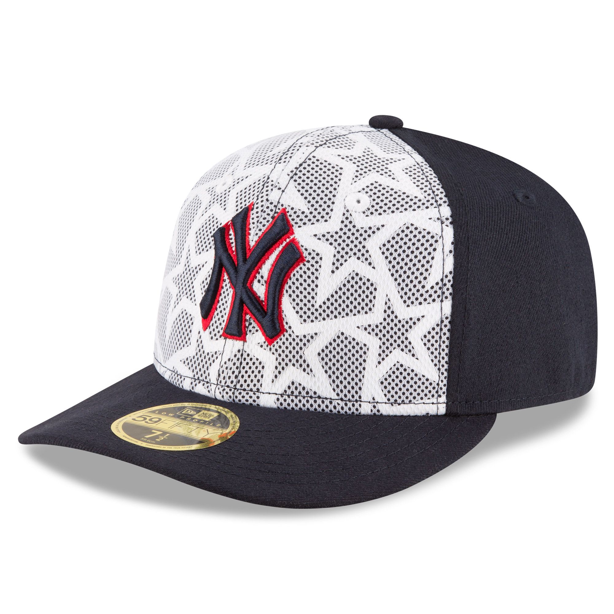 142a8fd68683d ... best price new york yankees new era stars stripes low profile 59fifty  fitted hat white navy
