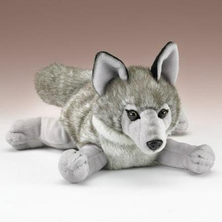 """13"""" Wolf Plush"""