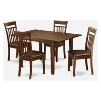 East West Furniture Picasso 5 Piece Sheraton Dining Table Set